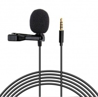Portable 35mm Wired Lavalier Microphone M 01