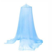 Blue Mosquito Preventing Net for Double Size Bed and Below