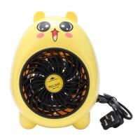 Mini Electric Warm Hand Baby Heater Fan Yellow