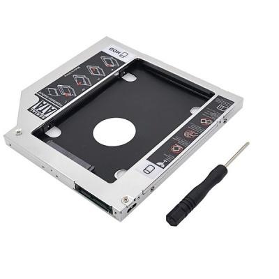 Raz Tech Universal SATA 2nd HDD HD SSD Enclosure Hard Drive Caddy Tray 95mm