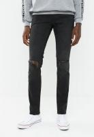 Mens Cheap Monday Haze Cut Tight Fit Jeans Black