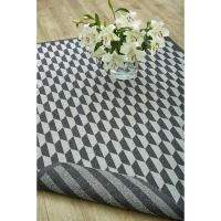 Narma smartWeave Rug Double Sided Carbon Night and Day