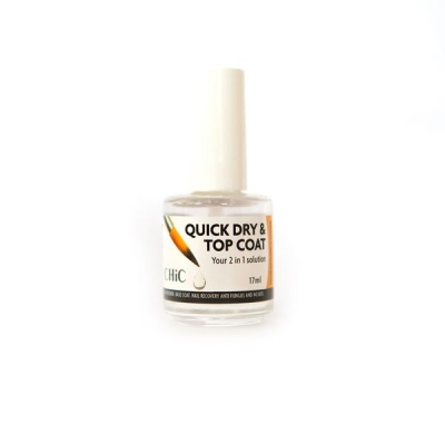 Chic QUICK DRY TOP COAT 2 IN 1 SOLUTION