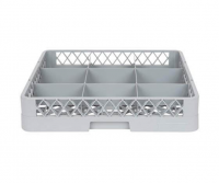 Cater Care Glass Dish Rack 9 Compartment