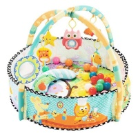 Happy Place activity baby play mat with play balls