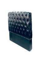 Decorist Home Gallery Deluxe Black Leather Headboard Single Size