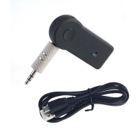 1 Touch Wireless Bluetooth Car Receiver Music HandsFree Call TF Card Slot
