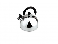 3 Litre Stainless Steel Whistling Kettle Silver