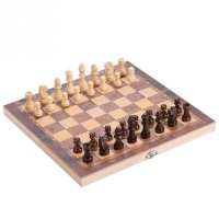 3 In1 Wooden Chessboard Folding Board Chess Game International Chess Set