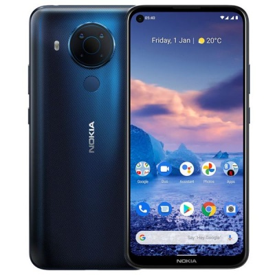 Photo of Nokia 5 4 Android 10 4GB Single 48MP - Blue Cellphone