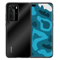 WripWraps Liquid Crystal Case Tempered Glass for Huawei P40 Pro