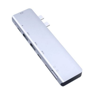 Photo of 7 Ports Portable USB 3.0 Type-C Hub To HDMI Adapter For Mac Book Pro Q-A121