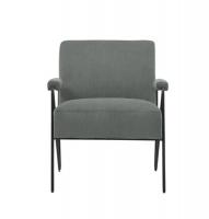 George Mason George Mason Metal Arm Accent Chair