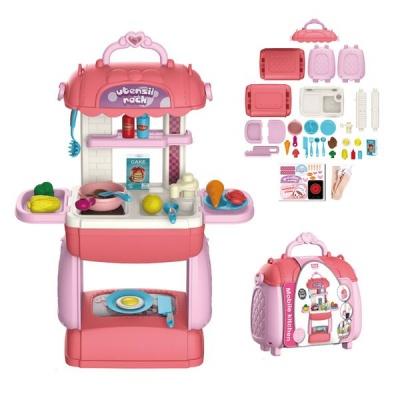 BTR Mini Pretend Play Set Mini Mobile Kitchen Play 3 1 Sling Bag Handbag