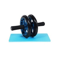 Ncuma Dual Wheels With Knee Pad Abdominal Exercise Equipment For Home Gym