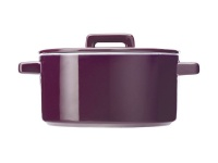 Maxwell Williams Maxwell and Williams Epicurious Round Casserole with lid 26L Aubergine