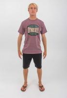 ONeill Mens ONeill Trademark short sleeve tee burgundy melange
