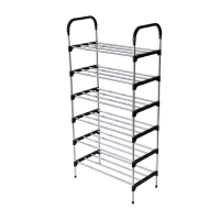 6 Layer Foldable Shoes Rack Organizer YH9901