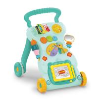 Jack Brown Multifunctional First Steps Baby Walker Toy Pink
