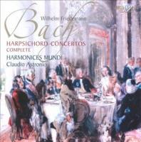 bach harpsichord concertos import cd