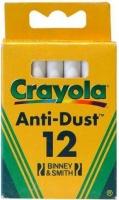 crayola 12 white chalks chalk