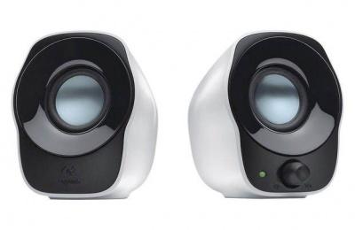 Photo of Logitech Z120 USB Stereo Speaker - Black and White