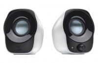 logitech z120 usb stereo speaker black and white