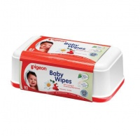 pigeon baby wipes 82s with chamomile tub wipe