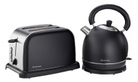 russell hobbs 18 litre kettle and 2 slice toaster toaster