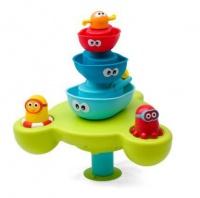yookidoo stack n spray tub fountain bath toy