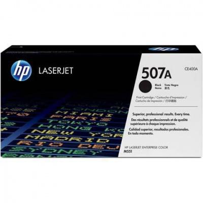 Photo of HP 507A Black LaserJet Toner Cartridge