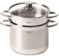 legend euro chef 45 litre pasta pot steamers rice cooker