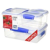 Sistema Klip It Food Storage Set Set of 6