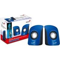 genius sp115 20 compact portable speakers blue