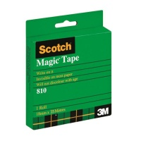 3m scotch magic tape 18mm x 25m office machine