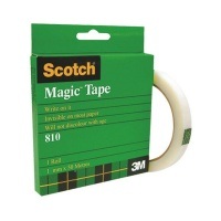 3m scotch magic tape 18mm x 50m office machine