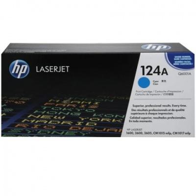 Photo of HP 124A Cyan LaserJet Toner Cartridge