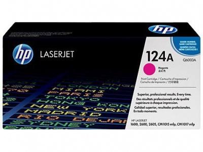 Photo of HP 124A Magenta LaserJet Toner Cartridge