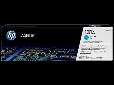 Photo of HP #131A Cyan Laserjet Toner Cartridge