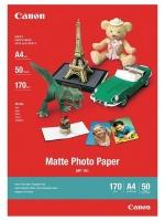 canon mp 101 matte a4 photo paper 50 sheets office machine