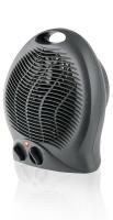 Mellerware 2000W Heater Floor Fan Graphite