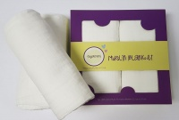 sugardots classic love muslin blankets set of 2 blanket
