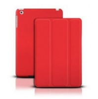 ipad air smart magnetic case red