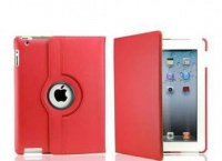 ipad air rotatable case red