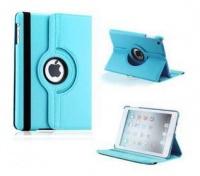ipad mini rotatable case blue