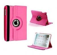ipad mini rotatable case hot pink