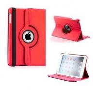 ipad mini rotatable case red