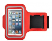 tangled iphone 5 armband red