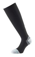 1000 mile unisex compression sock size uk9 11 black compression wear