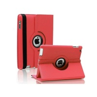 ipad air 2 rotatable case red